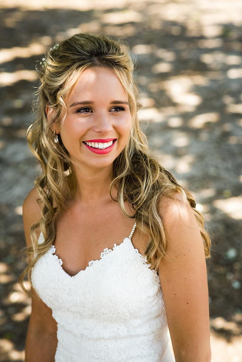 Bruidsmake-up bij Schoonheidssalon Sense for Beauty Zegge
